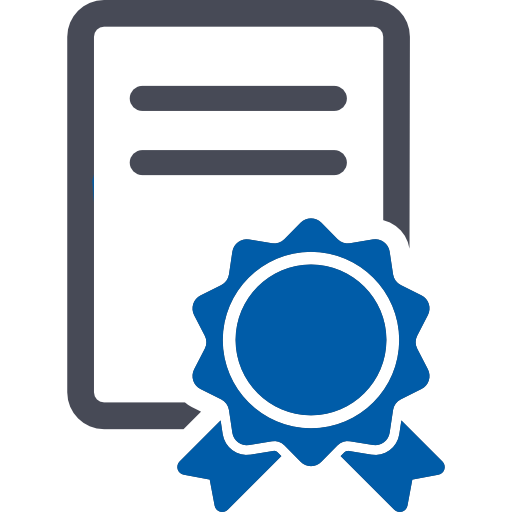Certificado Ícone